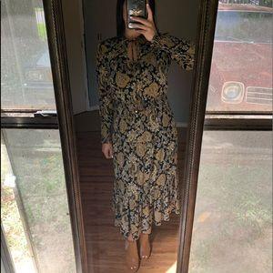 Michael Kors Paisley Print Maxi dress